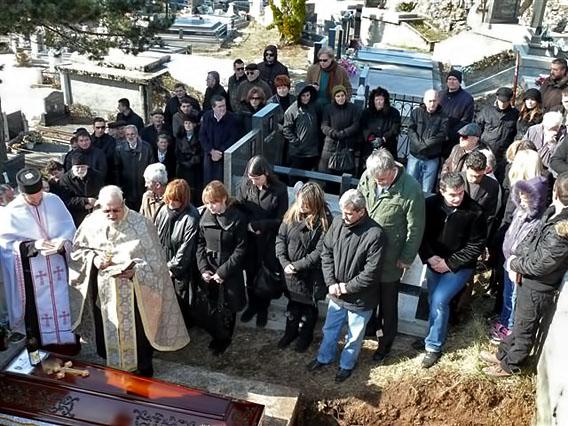 Испраћај Петра Тодоровића, живог учесника обнове Цркве у Црној Гори