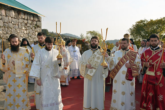 Свети Мардарије љешанско-либертвилски данас први пут литургијски прослављен у Митрополији црногорско-приморској