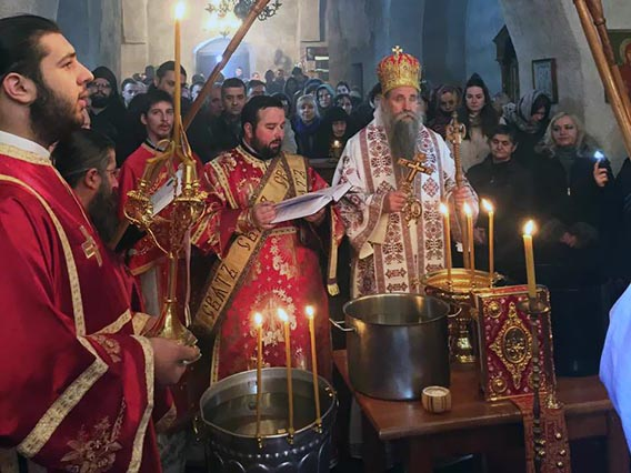 Богојављење прослављено у Беранама