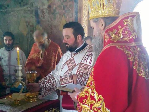 Епископ Јоаникије служио Заупокојену Литургију у манастиру Косијерево