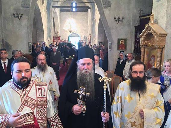 Прослављена храмовна слава манастира Ђурђеви Ступови