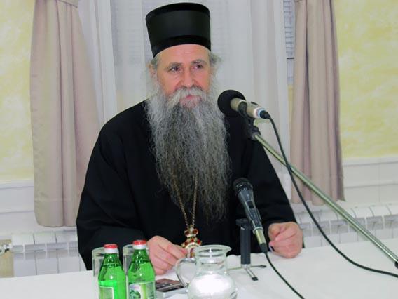 Преосвећени Епископ Јоаникије одржао предавање у Никшићу