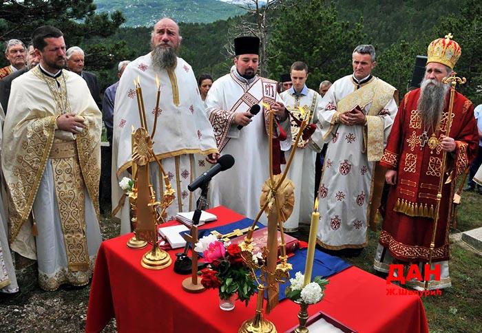 Прослављено Вазнесење Господње и 160 година Битке на Граховцу