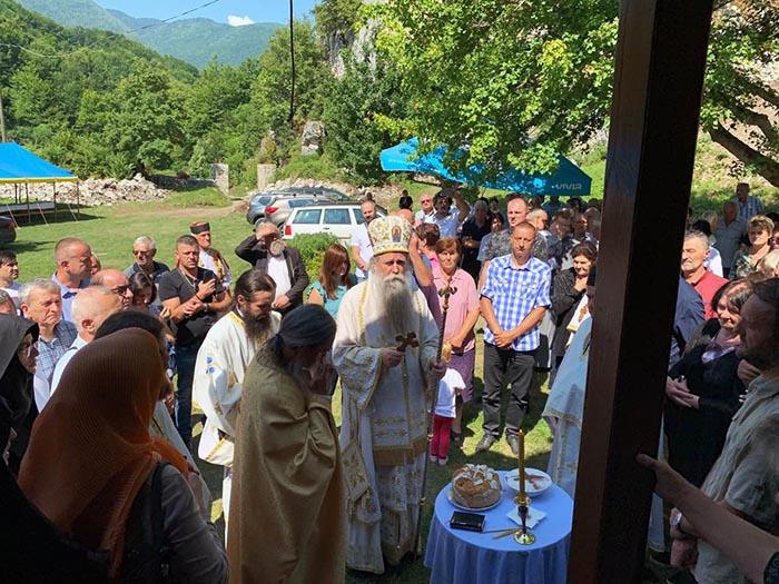 Прослављен Свети великомученик Пантелејмон – слава манастира Самограда